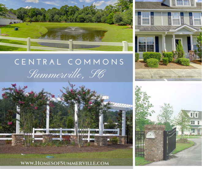 Townhomes for Sale in Central Commons