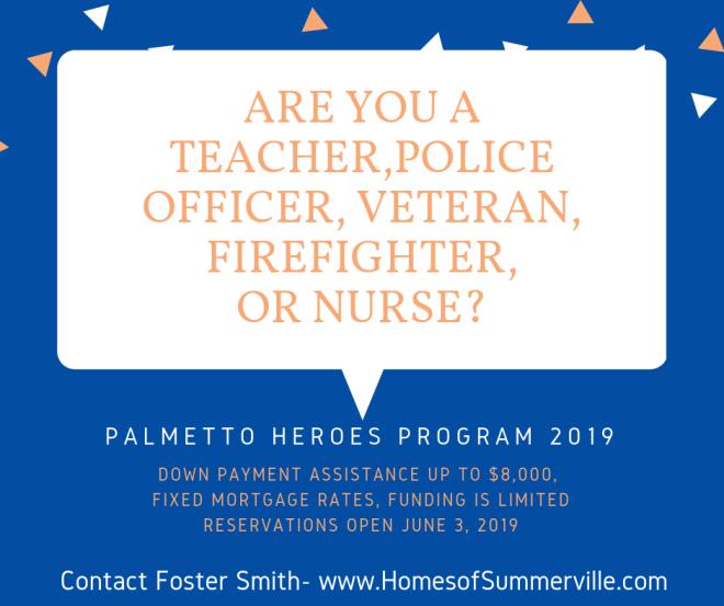 Palmetto Heroes Program 2019