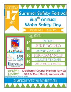 Summer Safety Festival in Summerville, SC