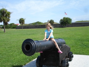 Fun Children's Activities in Charleston, SC - Fort Moultrie