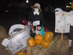 Scarecrows on the Square in Summerville, SC