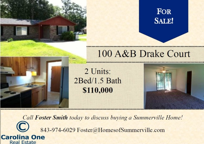 Investment Property for Sale in Summerville