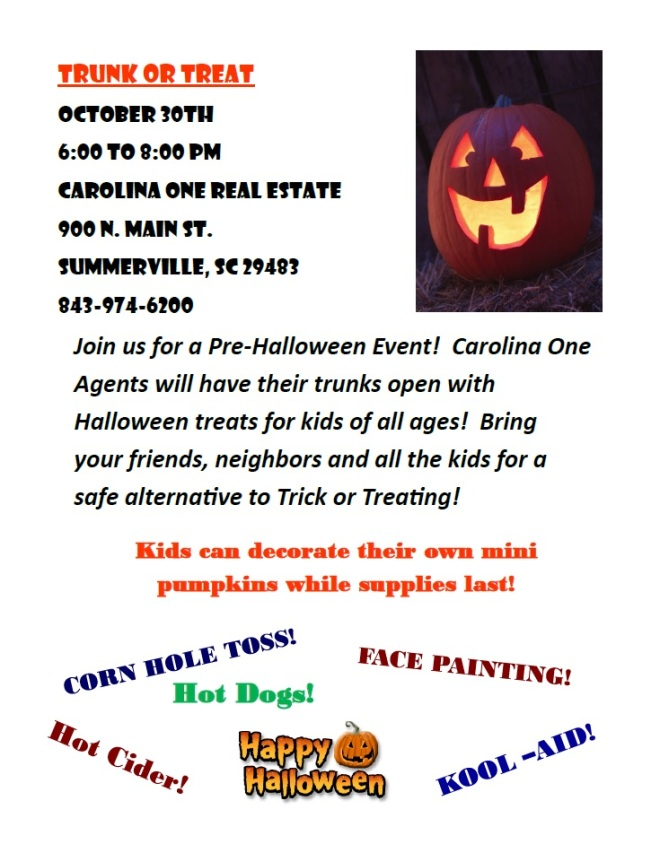 Halloween in Summerville, SC