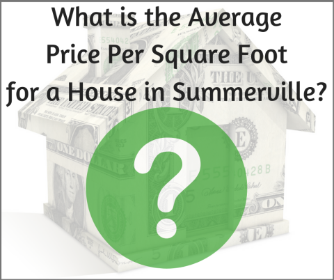 What is the Average Price Per Square Foot for a House in Summerville?