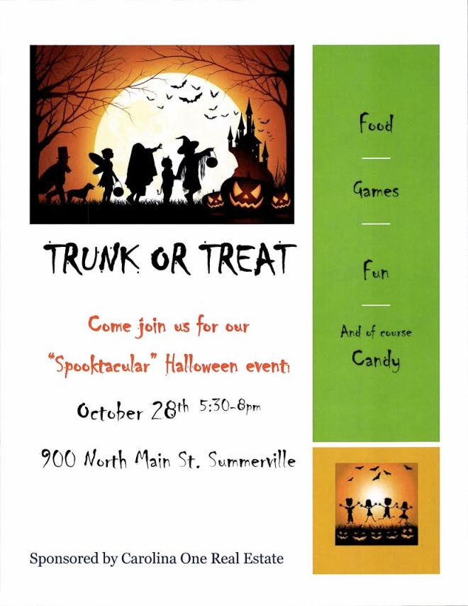 Carolina One Real Estate Trunk or Treat