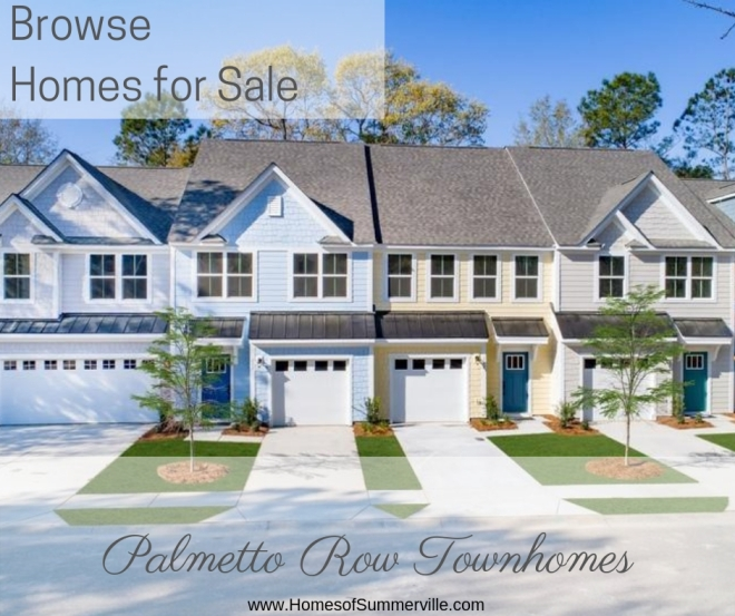 Townhomes for Sale in Palmetto Row