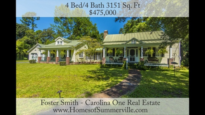 Historic Homes for Sale in Summerville, SC