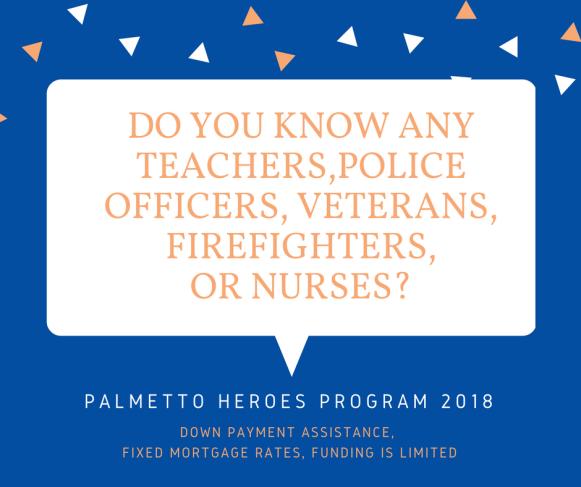 Palmetto Heroes Program 2018