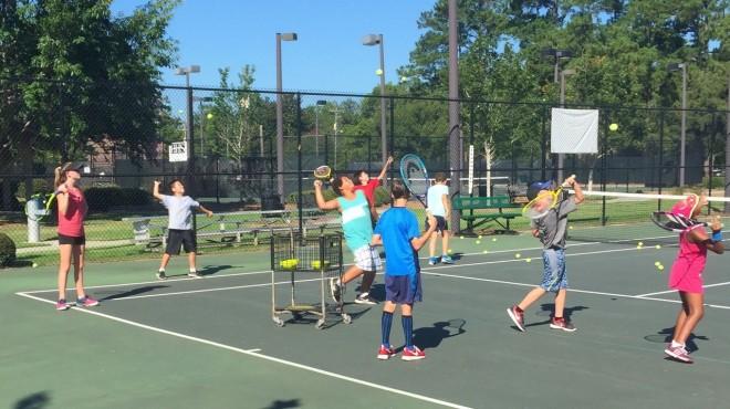 Tennis Clinic in Summerville, SC