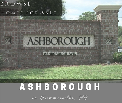 Homes for Sale in Ashborough Subdivision - Summerville, SC