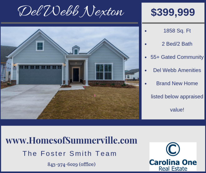 Home for Sale in Del Webb Nexton