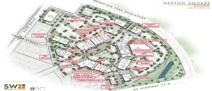 Nexton Square Opening Soon