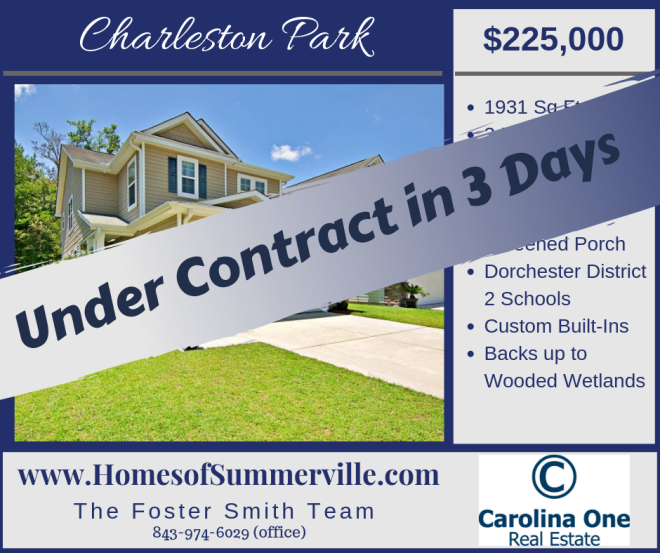 Homes for Sale in Charlesotn Park