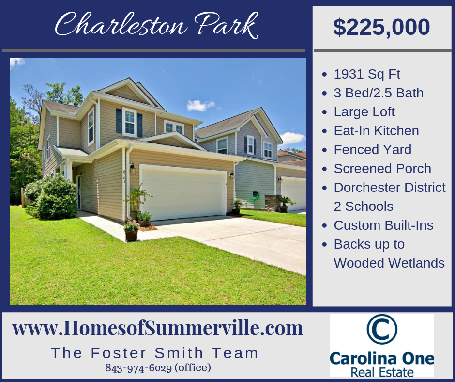 Home for Sale in Charleston Park