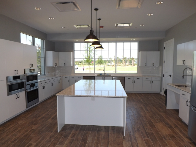 Del Webb Nexton Clubhouse Kitchen