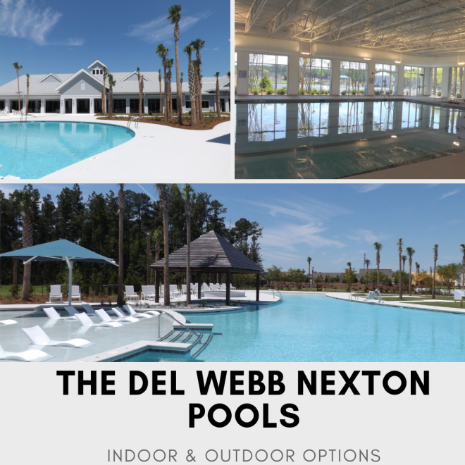 Pools at Del Webb Nexton