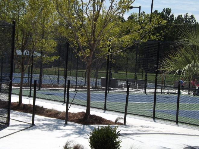 Pickleball Courts at Del Webb Nexton